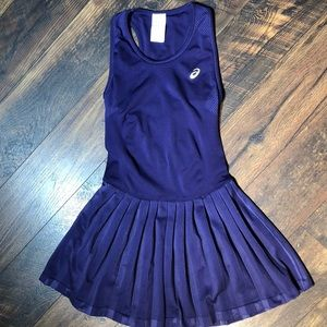 ASICS Purple Tennis/athletic Dress sz. Med